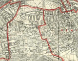 Edinburgh and Leith map, 1940  -  South Edinburgh section
