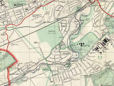 Edinburgh and Leith map, 1955  -  Juniper Green and Colinton