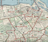 Edinburgh and Leith map, 1955  -  North Edinburgh section