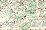 Edinburgh and Leith map, 1940  -  Sourth-west Edinburgh section