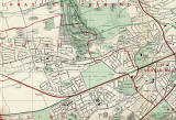 Edinburgh and Leith map, 1955 -  West Edinburgh section