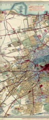Edinburgh Chronological Map  -  Published 1919  -  Central Section