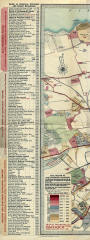 Edinburgh Chronological Map  -  Published 1919  -  West section and key