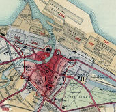 Extract from a chronological map published 1919  -  Leith