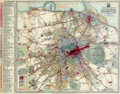 Edinburgh Chronoological Map  -  Published 1919