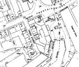 Estract from a large scale 1894 map ofthe Freer Streer area of Fountainbridge