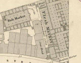 1876-77 Map  -  Edinburgh Old Town, Fleshmarket Close
