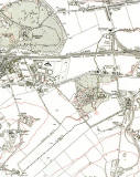 The Wisp  -  6 inch Ordnance Survey Map, 1932