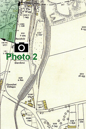 The Wisp  -  25 inch Ordnance Survey Map, 1932 showing the location of The Wisp, Photo 2