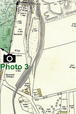 The Wisp  -  25 inch Ordnance Survey Map, 1932 showing the location of The Wisp, Photo 3