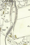 The Wisp  -  25 inch Ordnance Survey Map, 1932