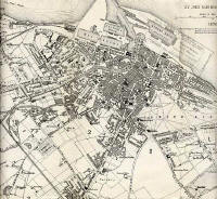 Map of Edinburgh and Leith, 1870  -  Leith Section