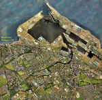 Newhaven aerial photo  -  2001  -  zoomed-out