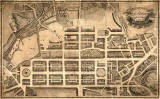 Enlarged map of Edinburgh New Town  -  Kirkwood, 1819
