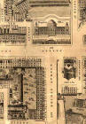 Detail from map of Edinburgh New Town  -  Kirkwood, 1819  -  East End of Princes Street