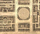 Detail from map of Edinburgh New Town  -  Kirkwood, 1819  -  St Andrew Square