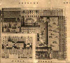 Detail from map of Edinburgh New Town  -  Kirkwood, 1819  -  Waverley