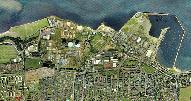 Edinburgh Waterfront and surrounding area  -  zoom-out  -  2001