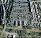 Google Earth Image  -  Looking to the NE across Merchiston Terraces