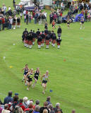 Scottish Highland Games  -  Pitlochry  -  10 September 2005  -  Pipe Band and Athletics