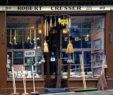 Robert Cresser's Brush Shop at 40 Victoria Street, Edinburgh
