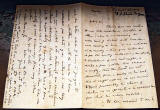 Letter of 5 October 1862 from D O Hill to P Allen Fraser  -  Pages 1 and 4