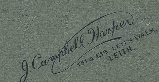 Name on Campbell Harper photograph
