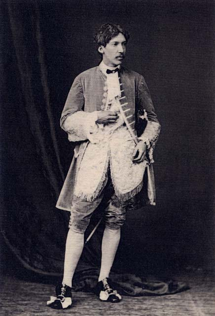Photograph by Moffat  -  Robert Louis Stevenson  -   Aged 20