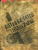 Buttercup Dairies  -  Paper Bag with advert