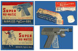 Super Nu-Matic toy gun from America, 1946