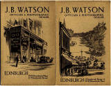 J B Watson  -  Developing and Printing wallet, 1934 to 1938  -  Outside