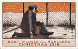 A 1916 Christmas Postcrd designed by Andrew Healey Hislop