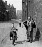 Photographs of the Dumbiedykes area of Edinburgh by Wullie Croal  -  mid 20th century