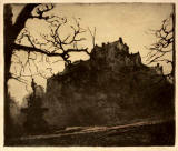 Etching of Edinburgh Castle by Robert Scott Forrest
