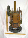 Model Steam Engine sold by E Lennie, 46 Princes Street, Edinburgh