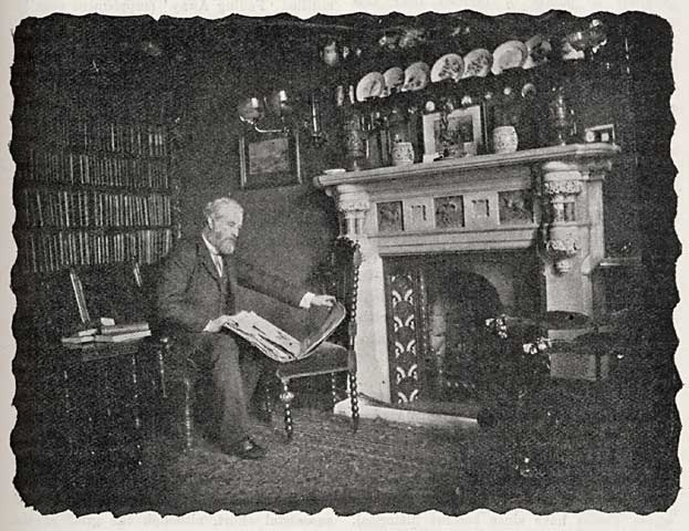 Photograph pf Henry Peach Robinson  -  At Home