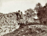 Photograph from the family of Horatio Ross  -  Hunting and Shooting in the Scottish Highlands  -  Shooting from the Wall