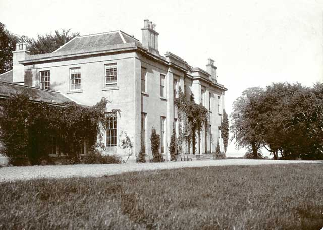 Photograph from the family of Horatio Ross  -  House  -  Which house was it?
