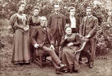 Photograph of the Thomson Family by Sydney Salmon, Corstorphine