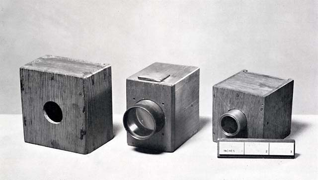 Cameras used by Talbot  -  1835 to 1839