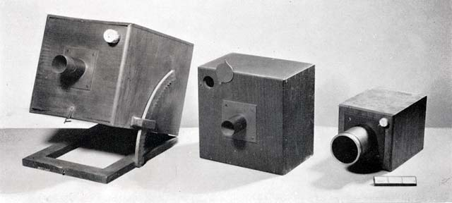 Cameras used by Talbot  -  1840 to 1842