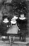 A portrait of three children from an Edinburgh family - boys or girls?  -  photographed when?