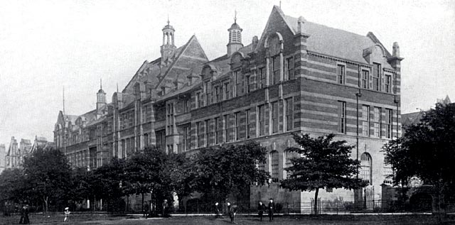 W R & S Ltd photograph from around the early 1900s  -  Boroughmuir School