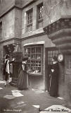 'Old Edinburgh' exhibit at the International Exhibition, Edinburgh, 1886   -  by Marshall Wane  -  Page 7  -  Cardinal Beaton's House