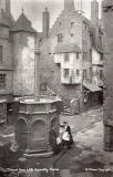 'Old Edinburgh' exhibit at the International Exhibition, Edinburgh, 1886   -  by Marshall Wane  -  Page 8  -   Mercat Cross and Old Assembly Rooms