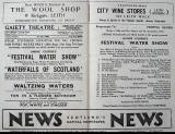 Gaiety Programme,  Inner Pages  -  August 1953
