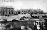 Postcard sold by H Adamson,  Piershill, Edinbrgh  -  Piershill Barracks