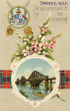 Postcard published by BB, London  -  The Forth Bridge