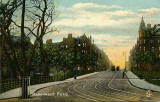 Postcard by J Bold  -  Marchmont Road