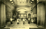 Edinburgh Ladies' College, Piano and Dancing  - Postcard by PA Buchanan